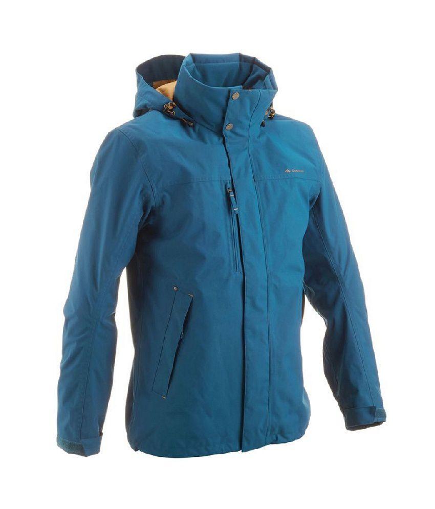 Quechua Arpenaz 300 Men Hiking Rain Jacket: Buy Online at Best ...