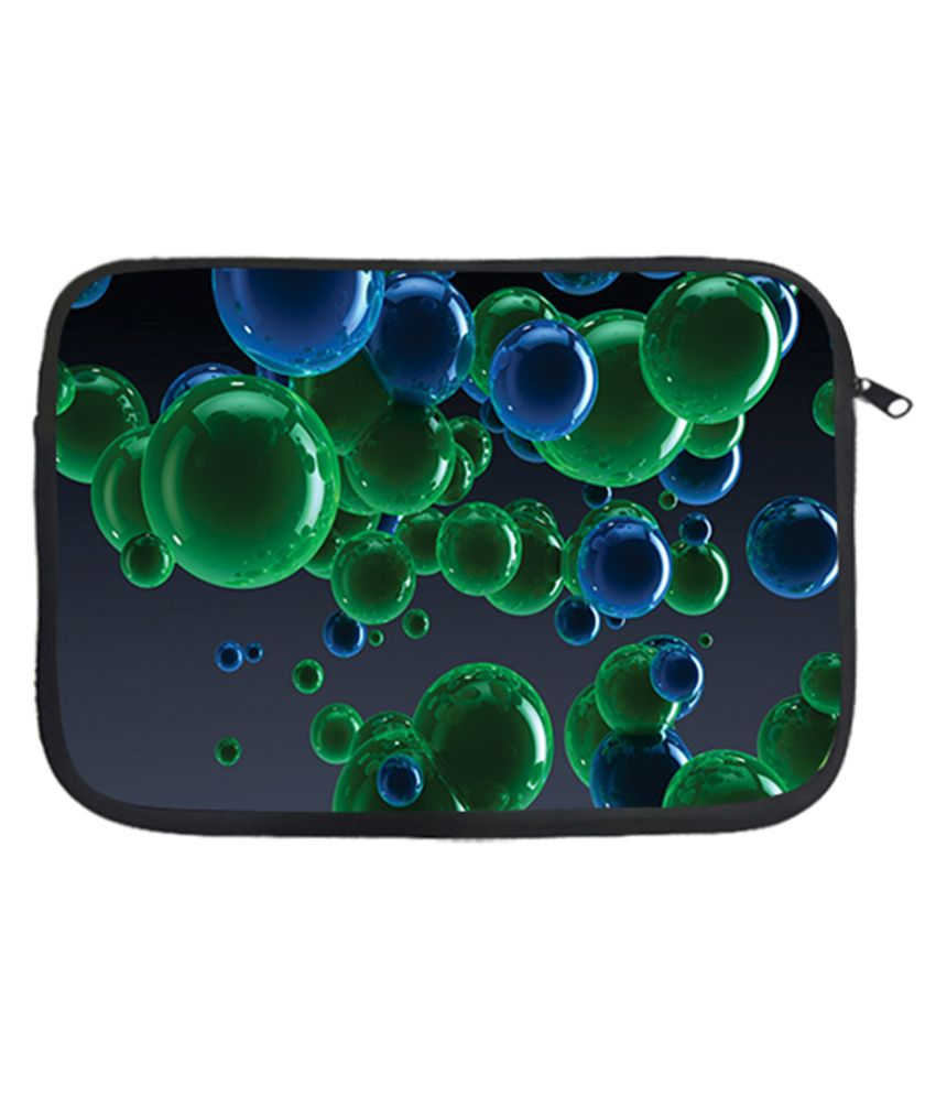 Via Flowers Color Balls Laptop Sleeve - Multicolour