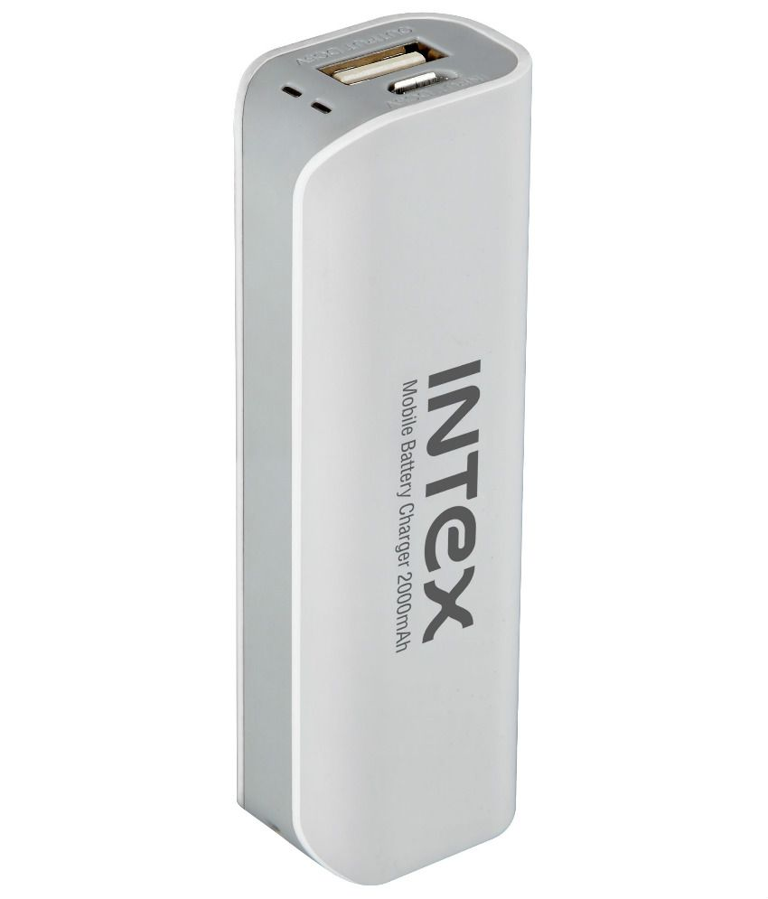 Intex IT-PB-2K 2000mAh Power Bank - White By Snapdeal @ Rs.
