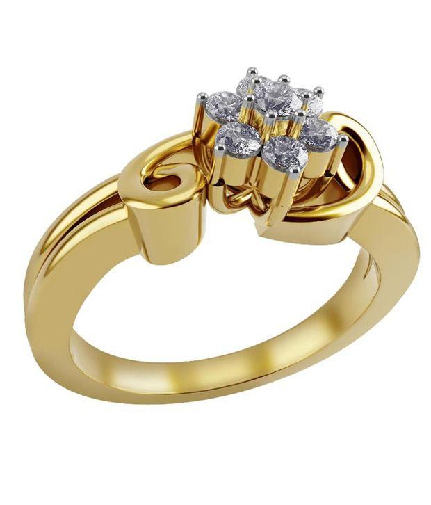 Kiah 18kt Gold Diamond Ring