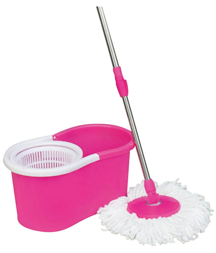 UrbanStyle 360 Degree Rotating Bucket Mop ( MultiColor )