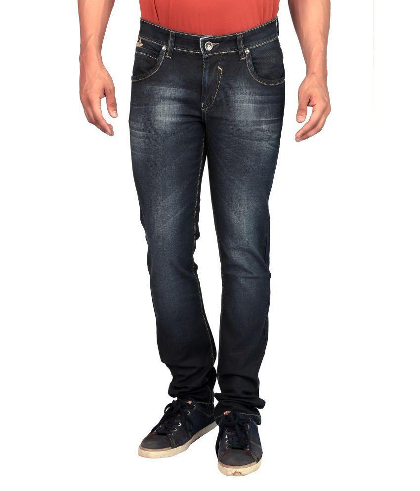 Gabon Blue Regular Fit Jeans