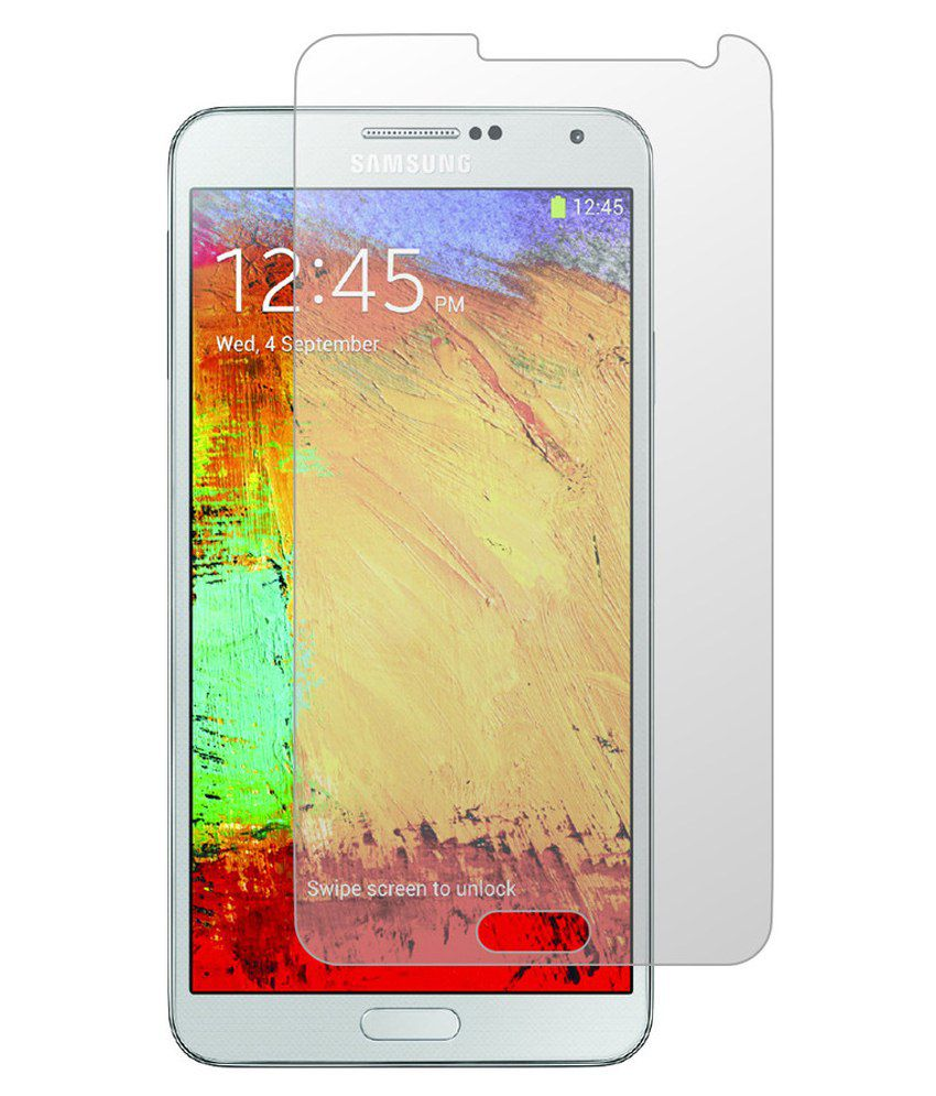 Samsung Galaxy Note 5 Tempered Glass Screen Guard by Designing Perfection