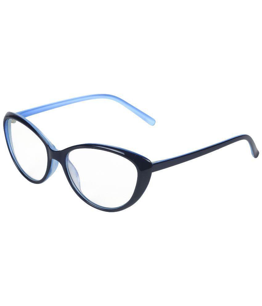 Lavish Blink Female Cat Eyes Full Frame (Black & Blue Colour : LB ...
