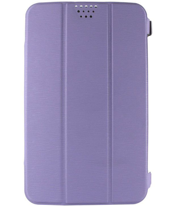 Molife  Universal  Flip Cover For Kindle 3G - Light Purple