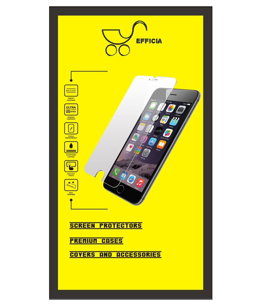 Micromax Canvas Spark 2 Tempered Glass Screen Guard by Efficia