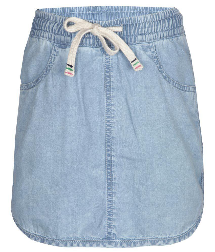 Gini & Jony Blue Denim Skirt