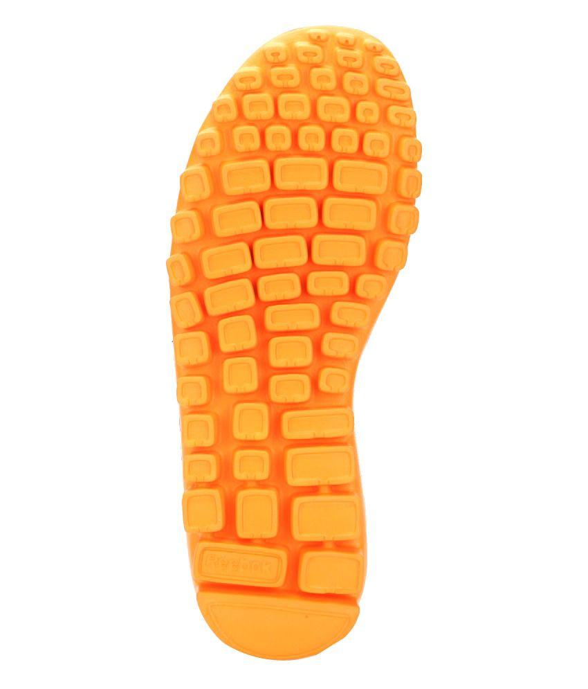 Reebok Ultra Flex 1.5 Gray   Orange Floaters - Buy Reebok Ultra Flex ... 0caa60009