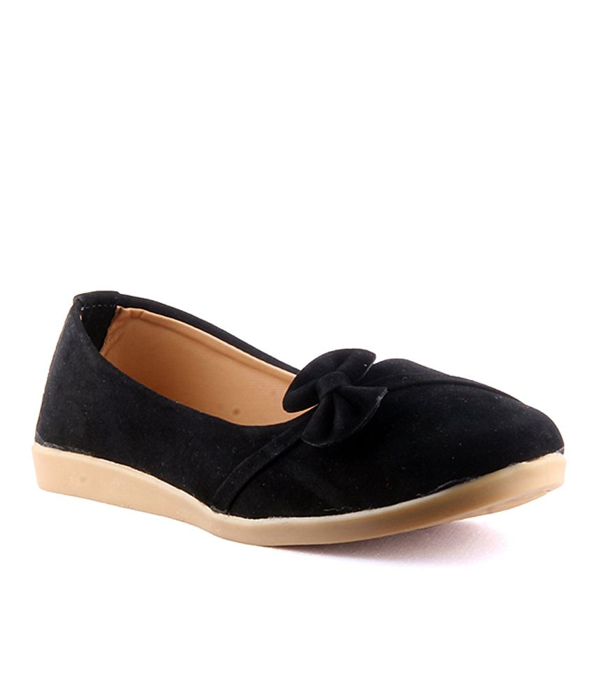 Savie Shoes Black Ballerinas