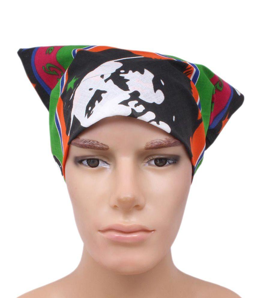 Sushito Multicolour Cotton Headwrap