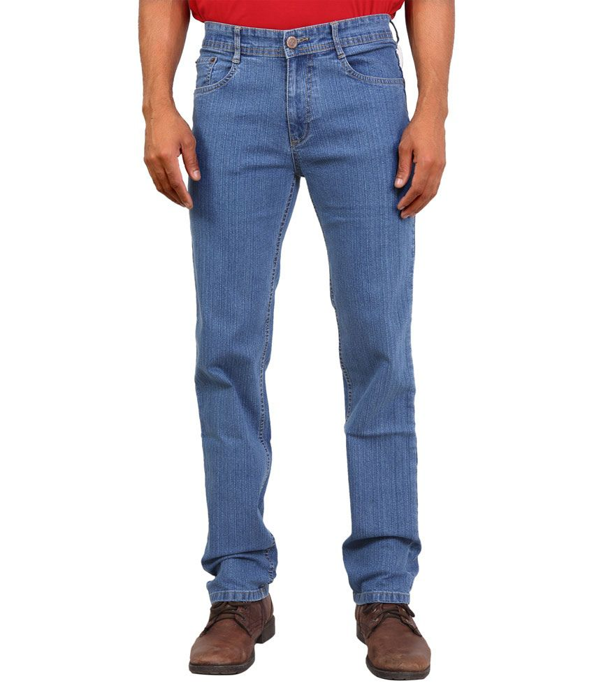 Wood Blue Slim Fit Jeans