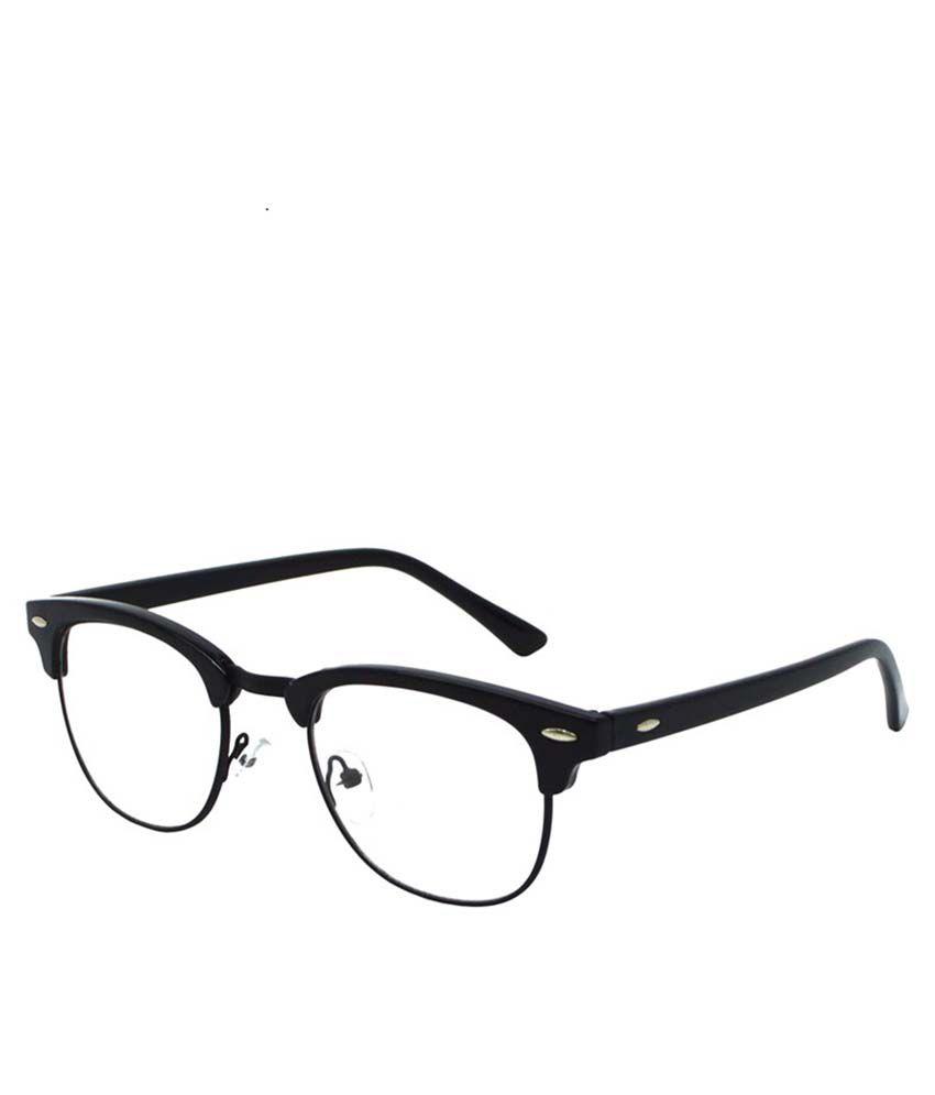 SFE Transparent Lens Clubmaster Sunglasses