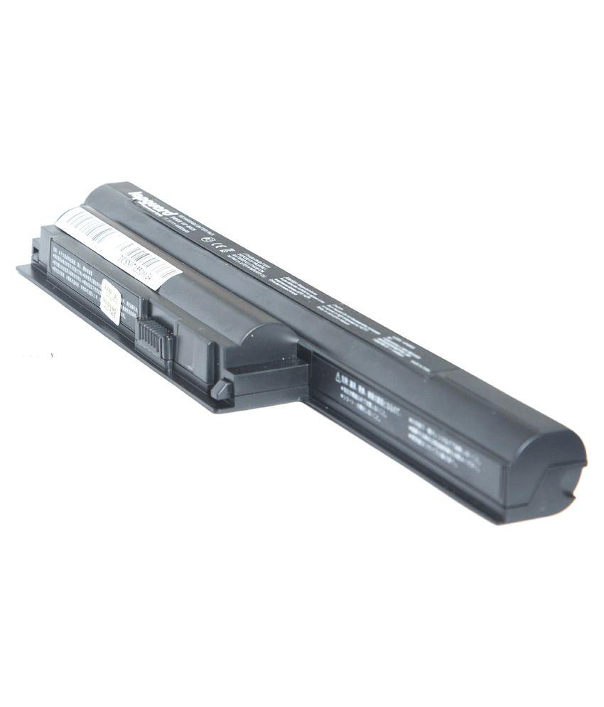 Lapguard 4400 mAh 6 Cell Laptop Battery For Sony VPCCB26EC - Black
