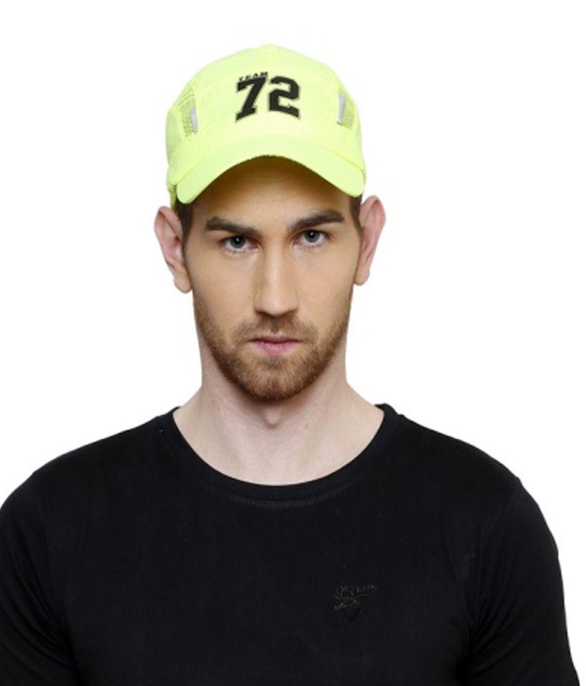 Sportigo Green Polyester Tennis Cap for Men