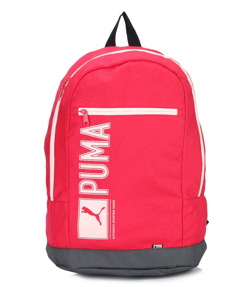 39f58a91f7 Puma Red Pioneer Bags College Bag Backpack Bag Backpacks - Buy Puma Red  Pioneer Bags College Bag Backpack Bag Backpacks Online at Low Price -  Snapdeal