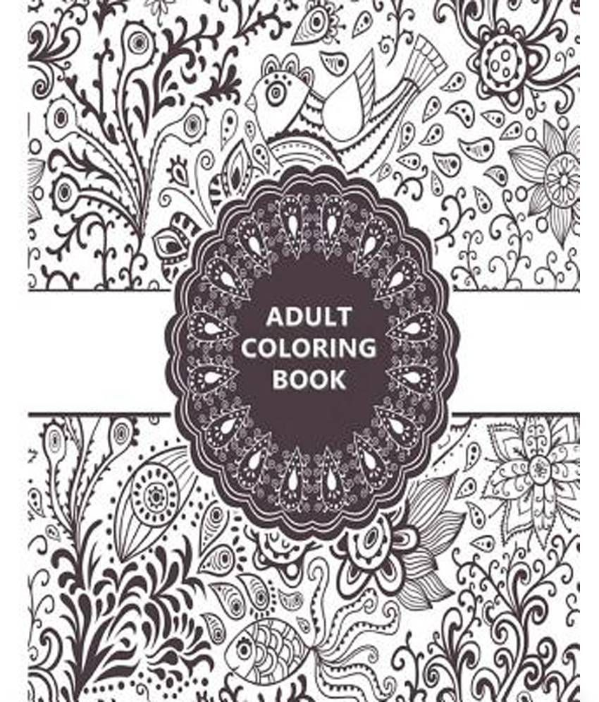 Adult Coloring Book Relaxation Templates For Meditation And Calming