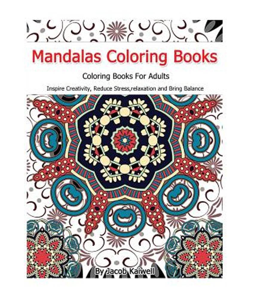Coloring book adult meditation stress - Meditation Mandalas Coloring Books For Adults Inspire Creativity Reduce Stress Relaxation Creativity Bring Balance