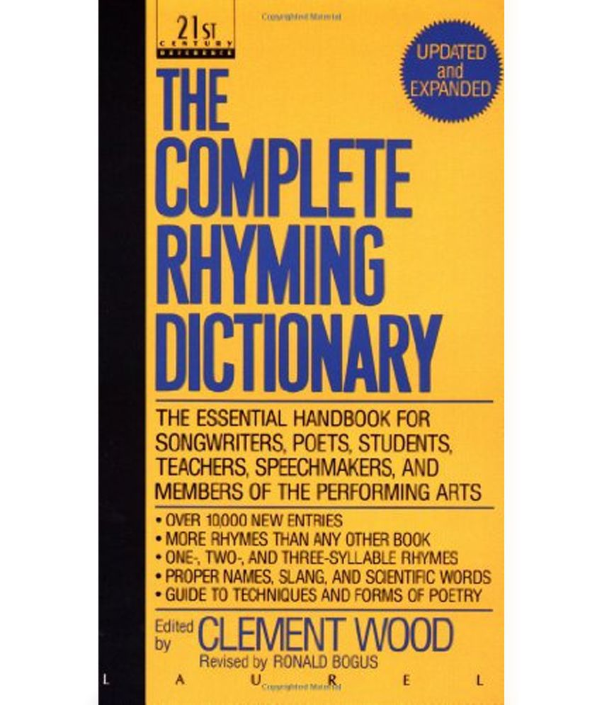 Worksheet Rhyming Questions the complete rhyming dictionary questions and answers for dictionary