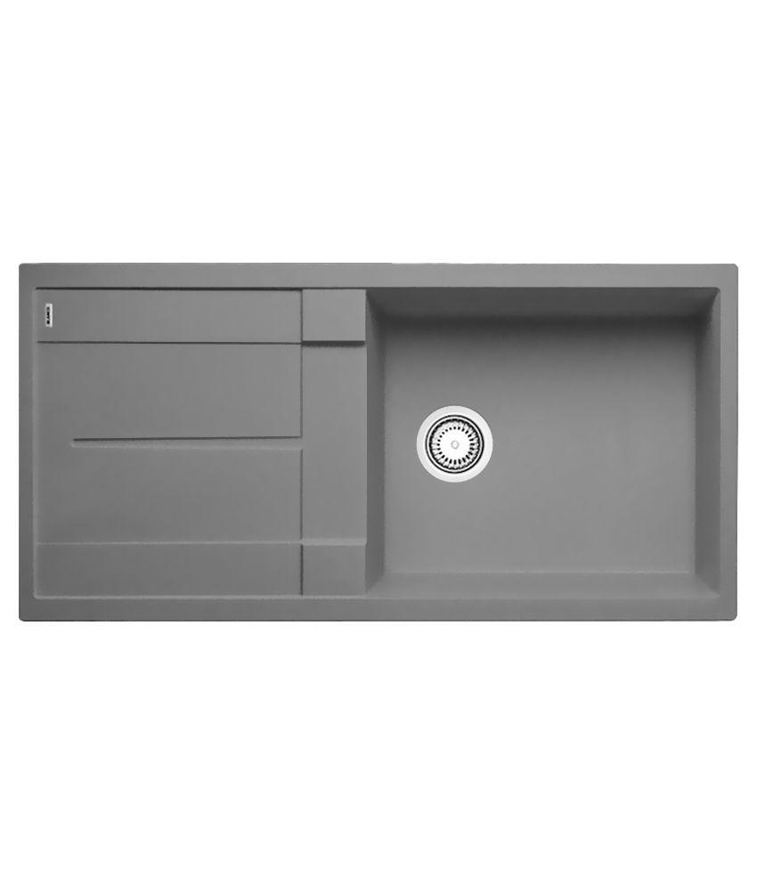 Buy Hafele Quartz Grey Kitchen Sink Online At Low Price In