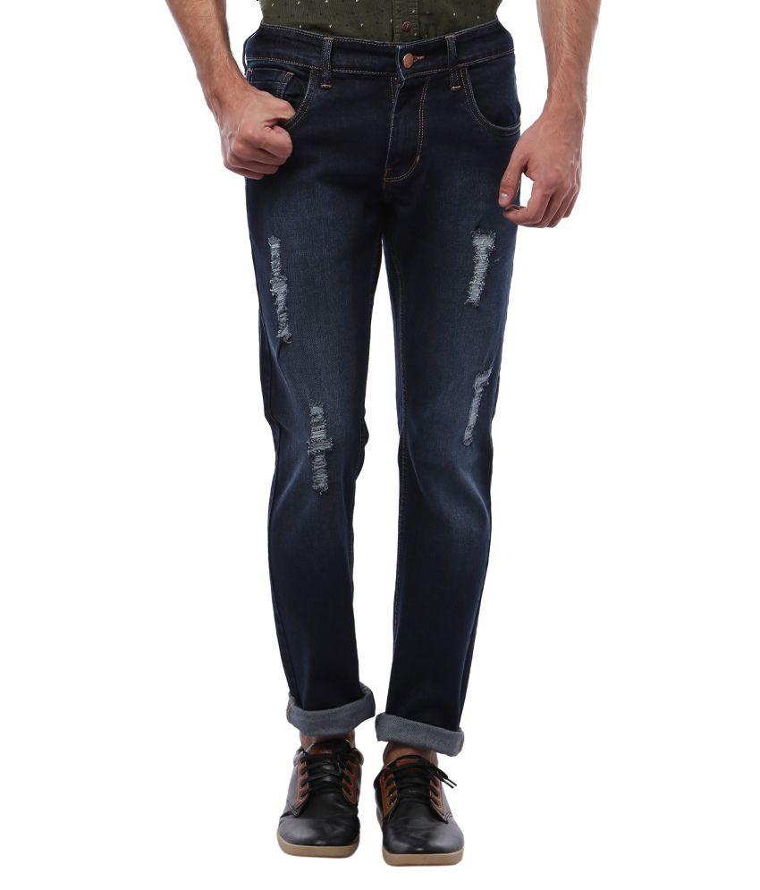 Bandit Navy Slim Fit Jeans