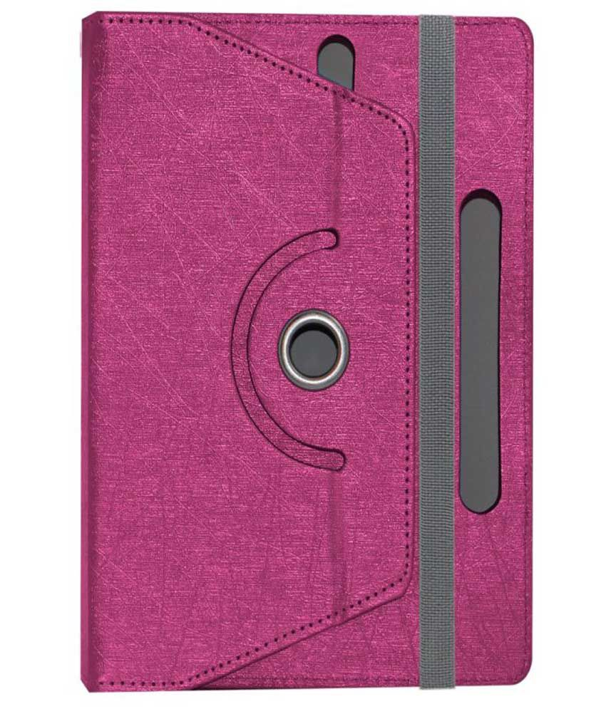 ACM Flip Cover for Bsnl Penta Ws708c - Pink