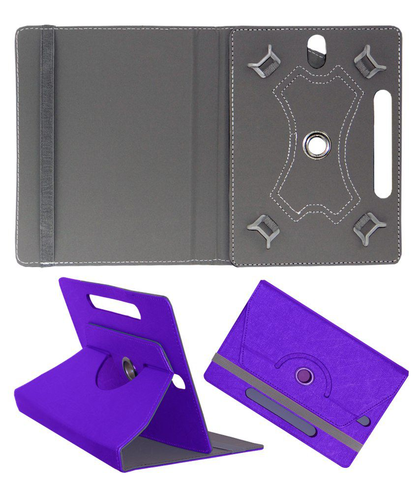 ACM Flip Cover for Micromax Funbook P280 - Purple