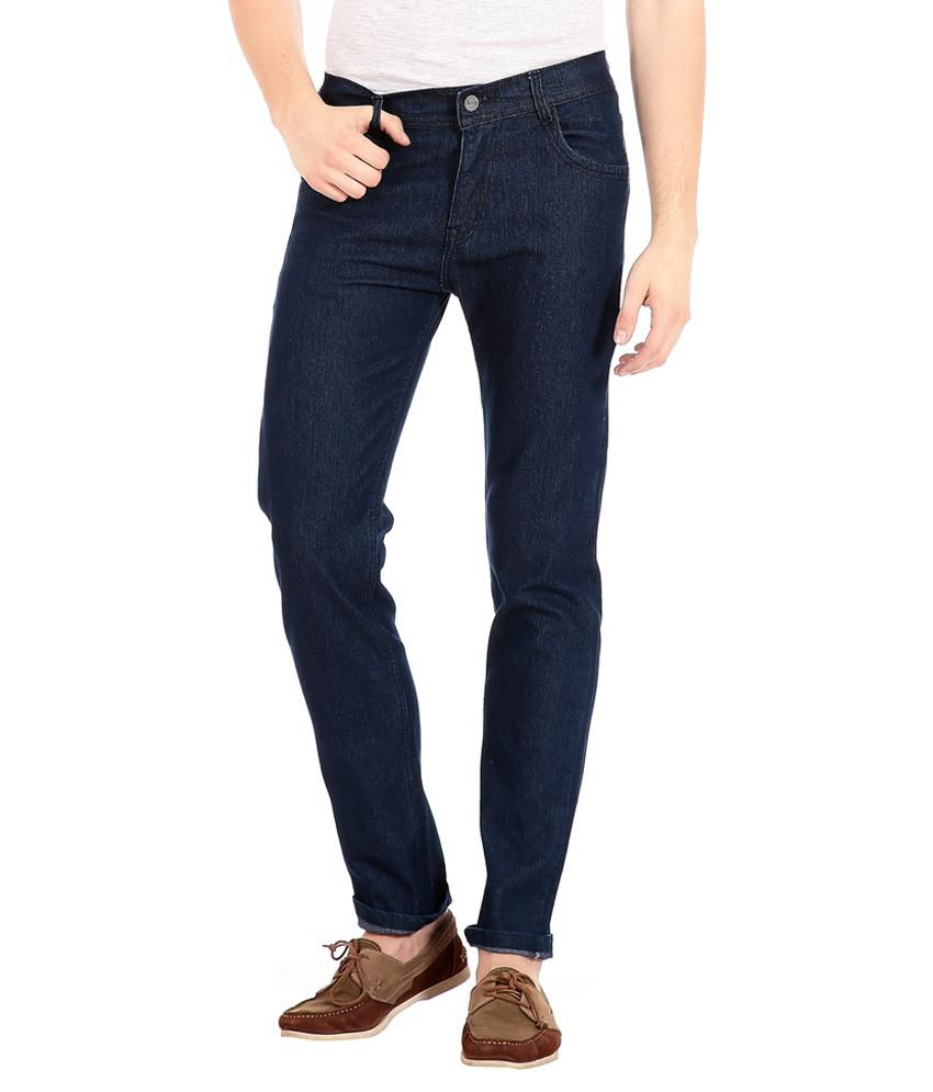 FlyJohn Blue Slim Fit Jeans No