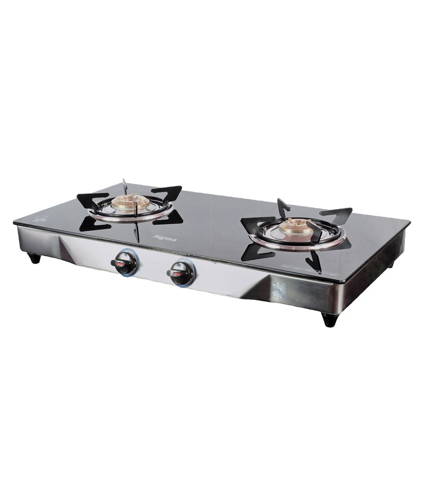 Sigma-SKW00212-Manual-Ignition-Gas-Cooktop-(2-Burners)