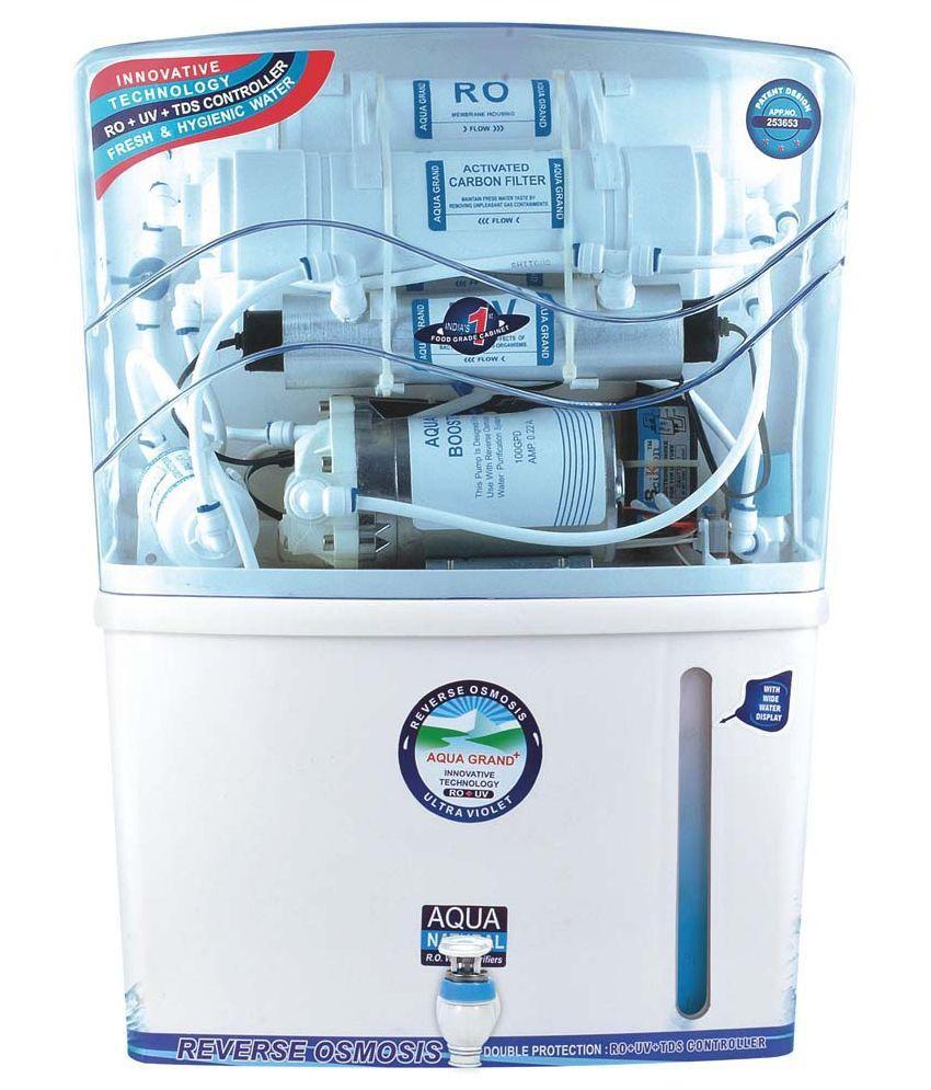 Aqua Grand Plus 15 LPH Aquagrand Plus RO+UV+UF+TDS+Mineral 12 Stages ...