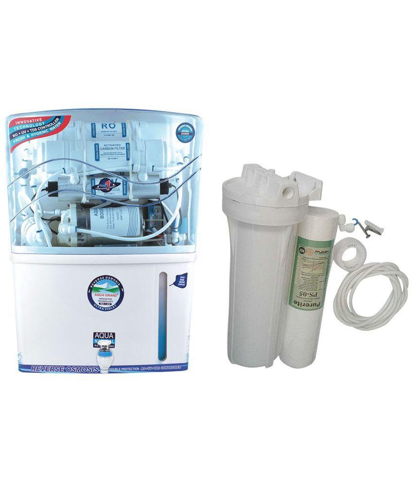 ce8b470c7 Aqua Grand Plus 15 LPH Aquagrand Plus RO+UV+UF+TDS+Mineral 12 Stages ...