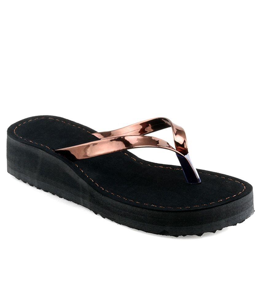 Shoe Lab Brown Slippers & Flip Flops