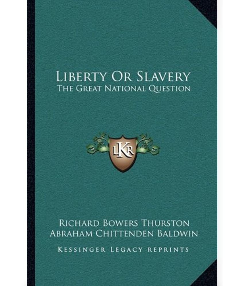 essay on slavery in america