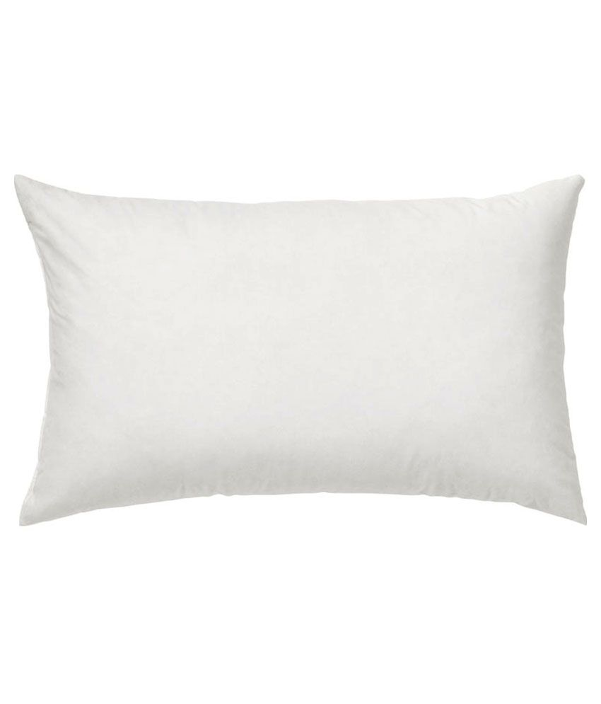 Furniture First White Cotton Pillows Pack of 3