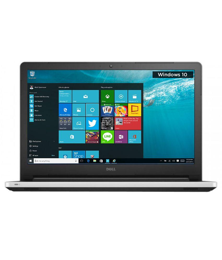 Dell Inspiron 5558 Notebook (Y566515HIN9WG) (5th Gen Intel Core i3- 4 GB RAM- 1 TB HDD- 39.62cm (15.6)- Windows 10) (White)