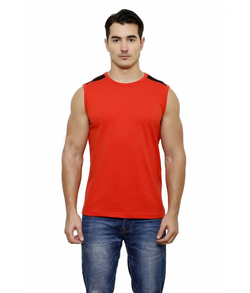 Casual Tees Red T Shirt