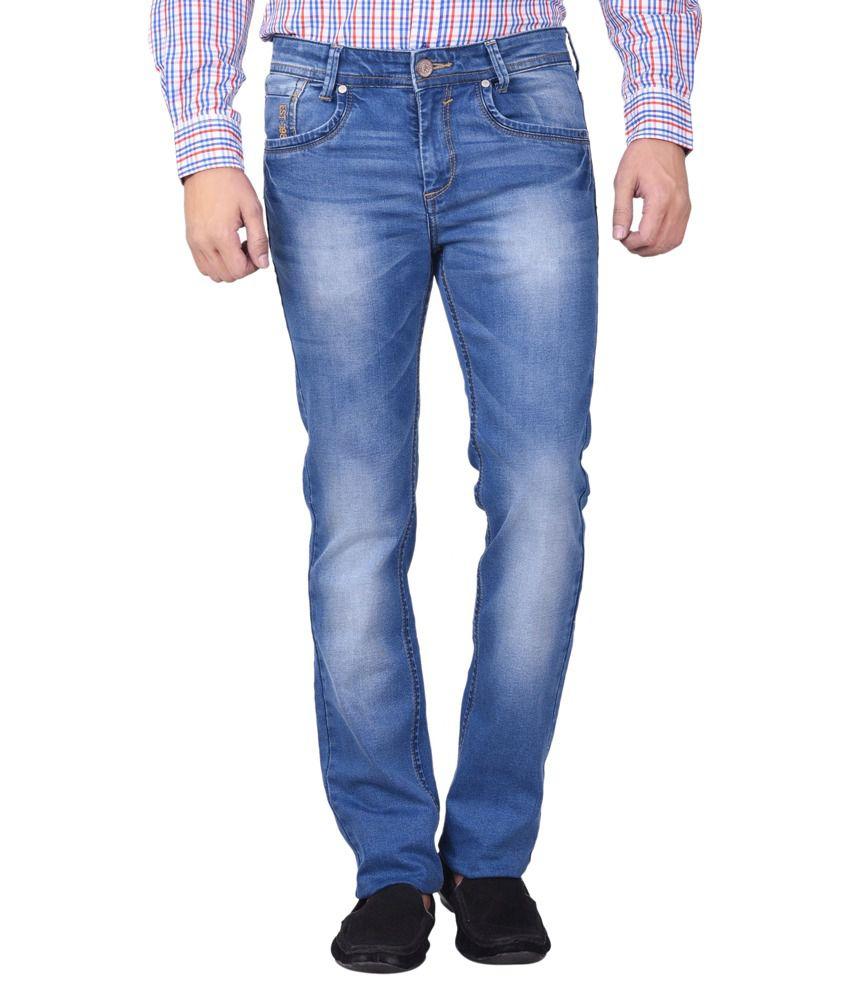 Moustache Blue Skinny Fit Jeans No