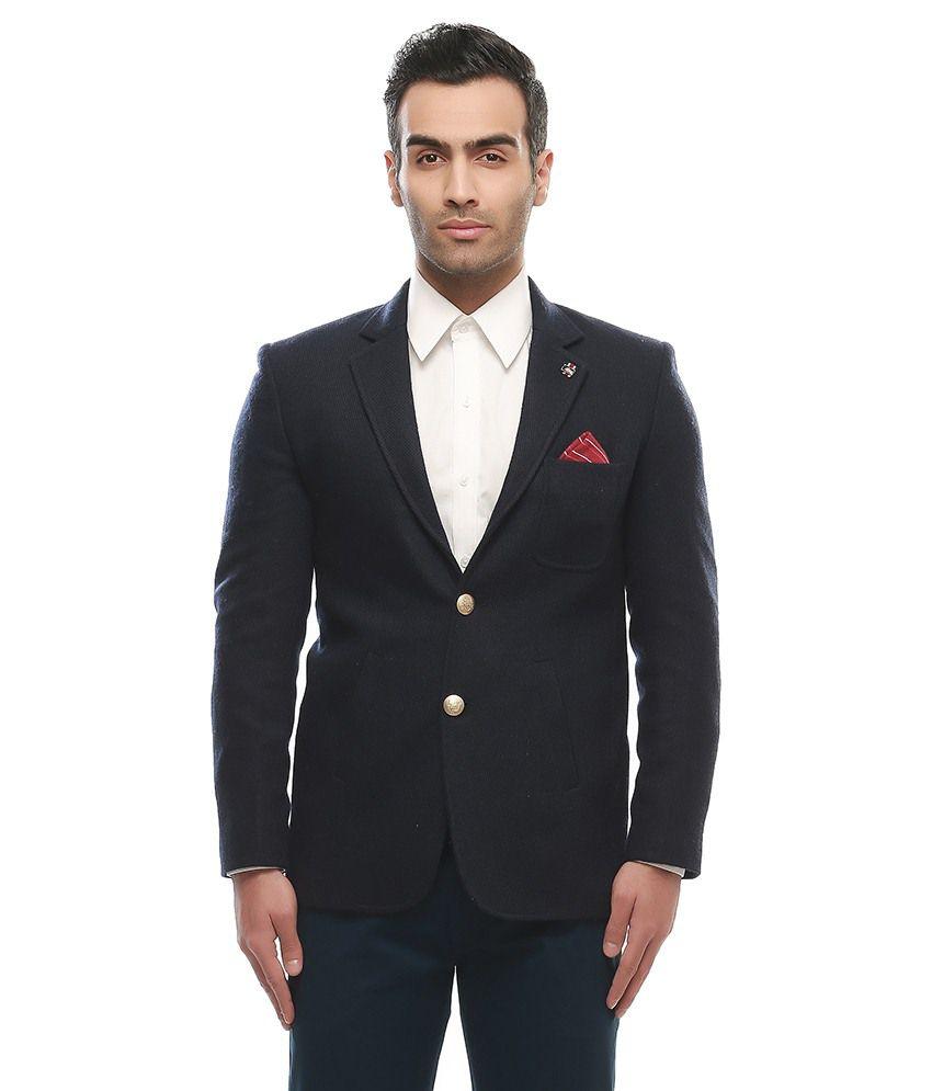 Nasir Khaki Casual Blazers Single