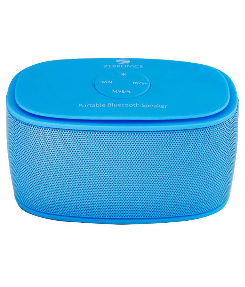 Zebronics Galaxy Bluetooth Speakers - Blue - Buy Zebronics