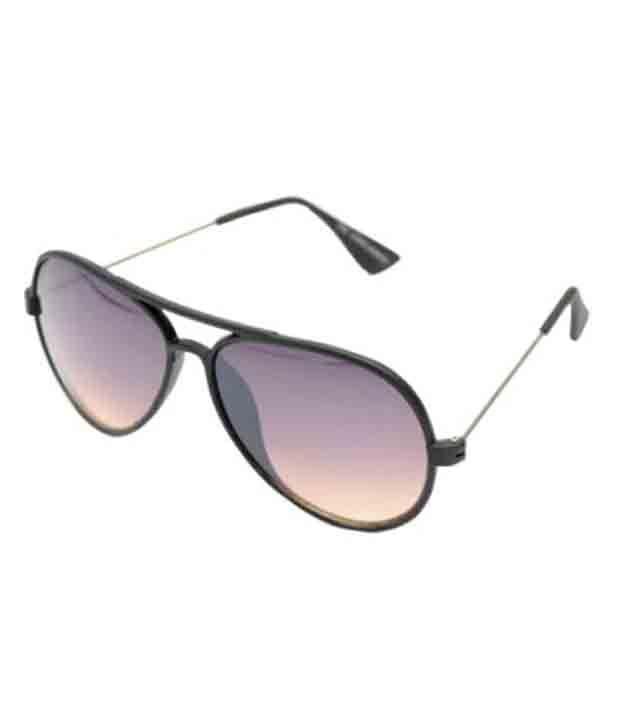 R Looks Brown Aviator Sunglasses
