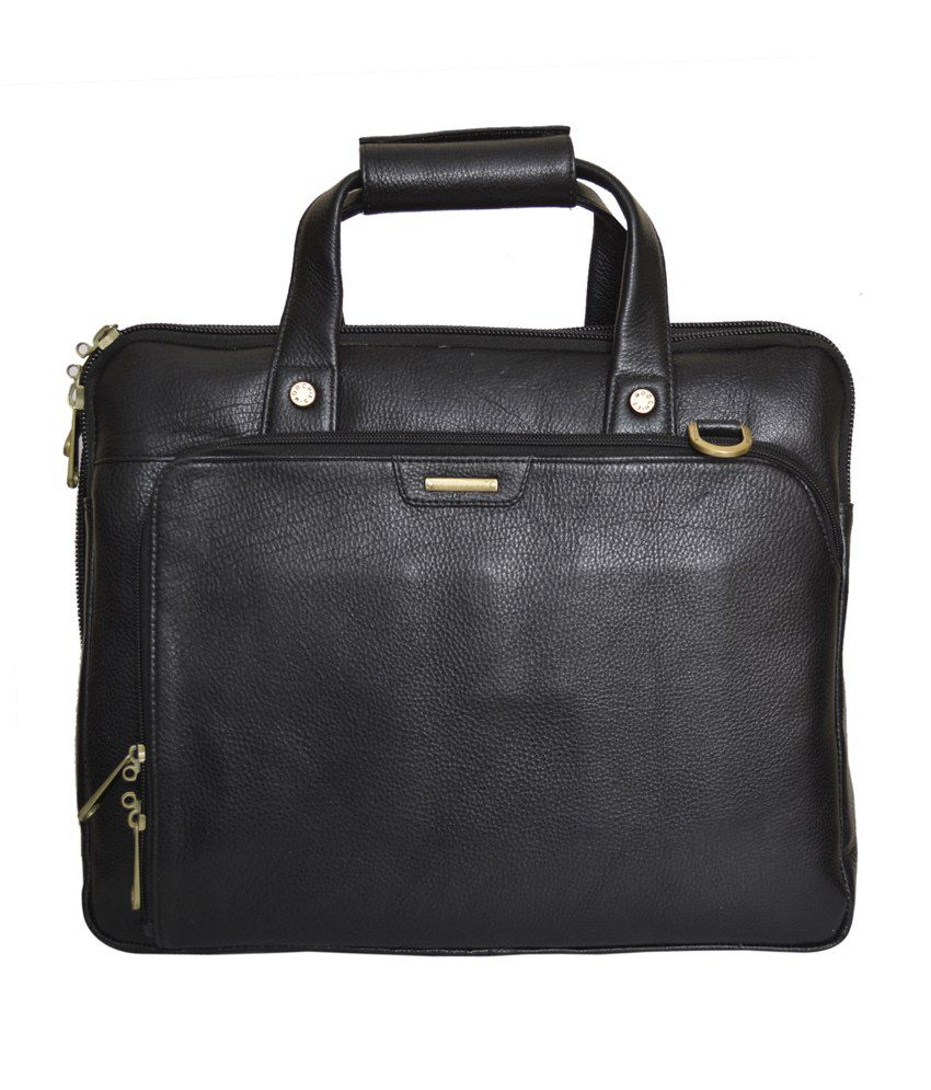 Rehan's Black Laptop Bag