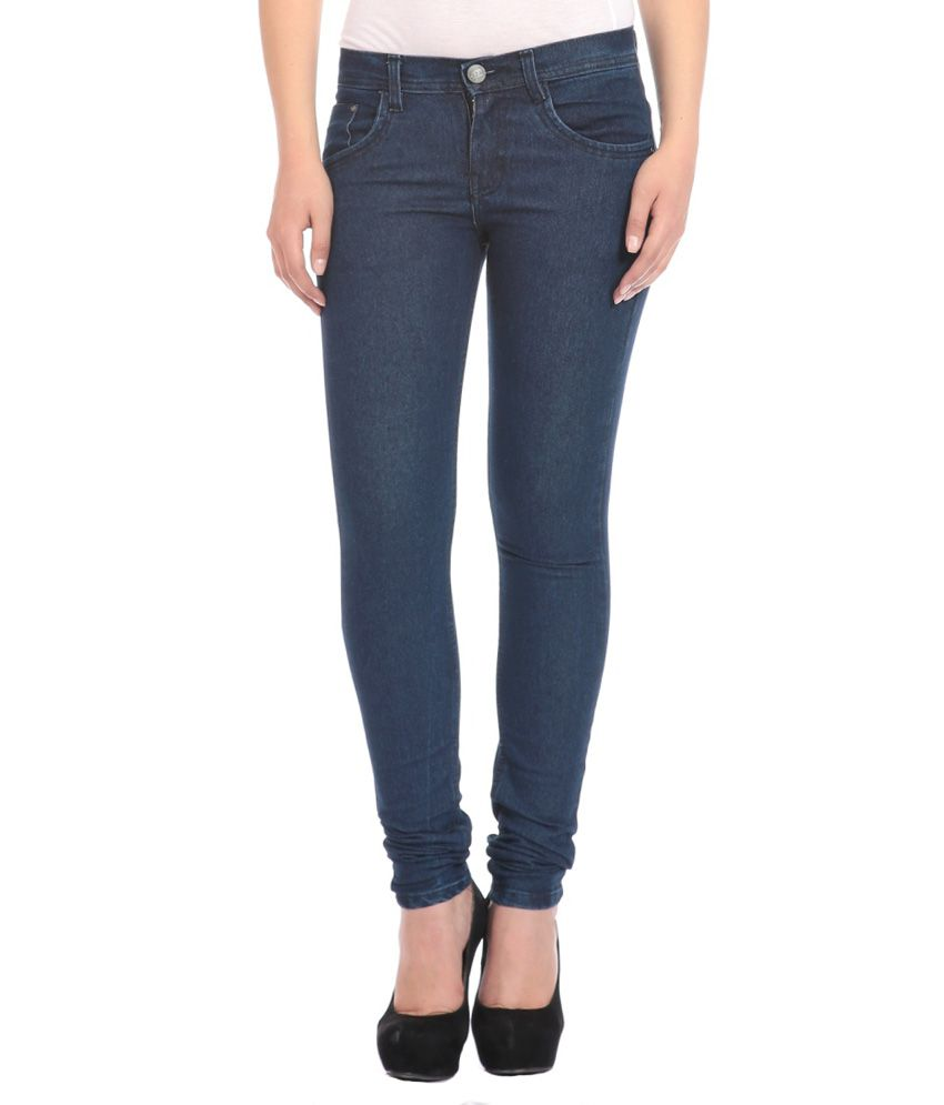 FlyJohn Blue Denim Jeans