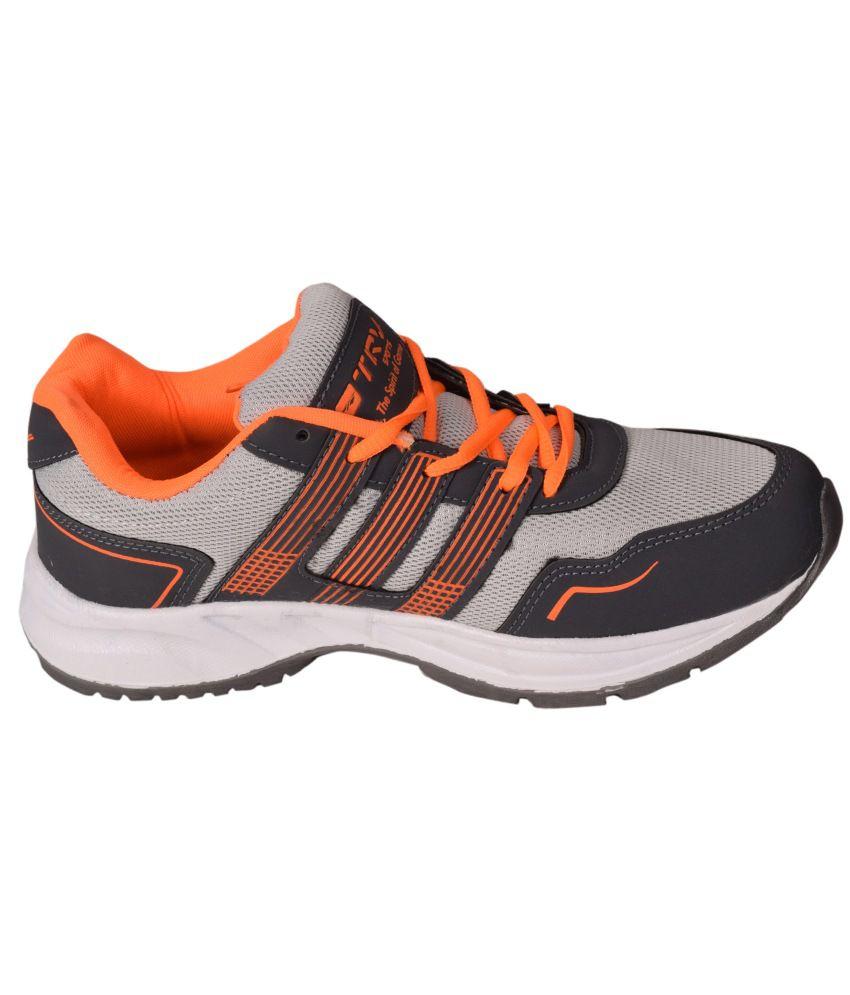 TRV Orange Running Shoes