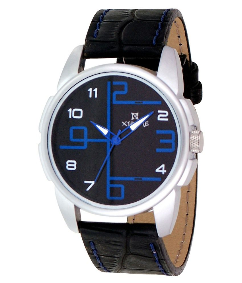 Xtreme Black Analog Casual Watch