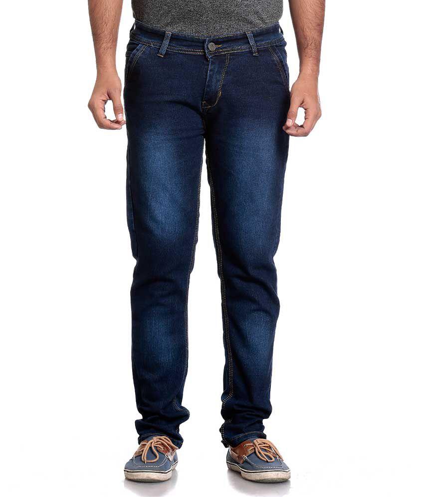Won 99 Blue Slim Fit Jeans Single