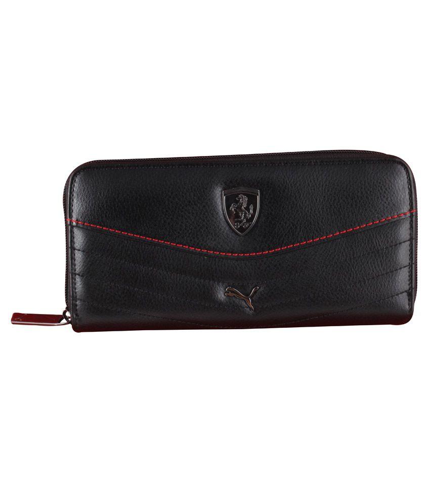 Puma Black Wallet for Women