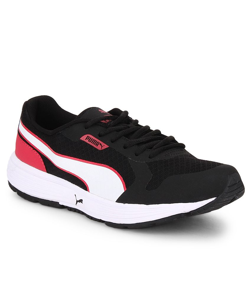 Puma Future Runner Ii Black Sports Shoes Price in India- Buy Puma Future  Runner Ii Black Sports Shoes Online at Snapdeal 232cd435f