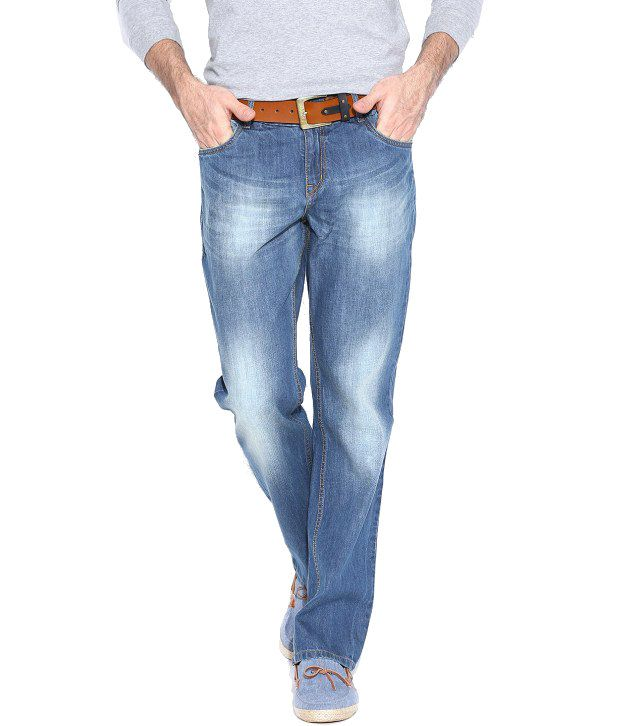 Hubberholme Blue Regular Fit Jeans