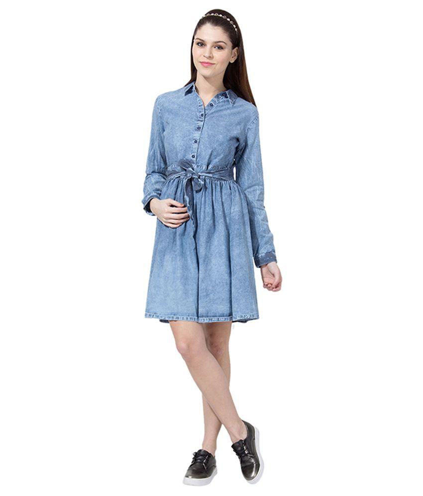 86185e2a48 Tokyo Talkies Blue Denim Dresses Tokyo Talkies Blue Denim Dresses ...