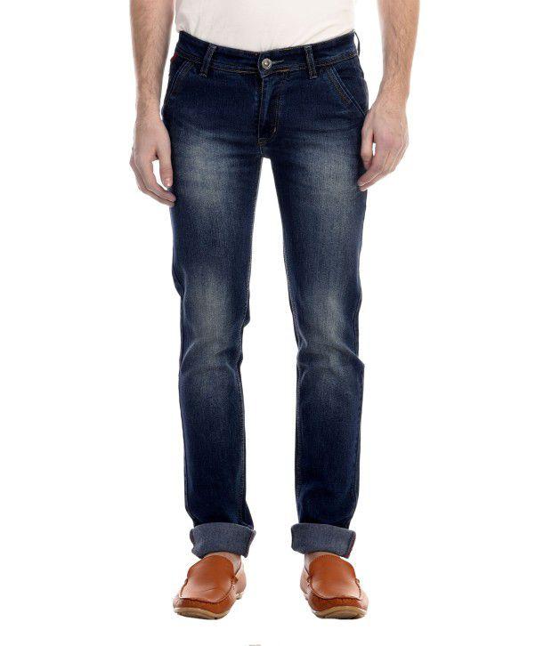 Revolt Blue Slim Fit Jeans