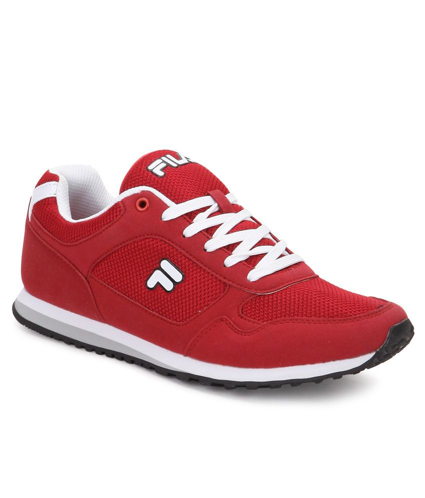972a3f01d2d3 Fila Bastiano Red Casual Shoes - Buy Fila Bastiano Red Casual Shoes Online  at Best Prices in India on Snapdeal